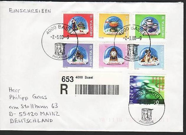 Schweiz netter Sammler Beleg   siehe scan (m5763 )