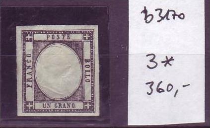 Italien  Nr.  3 * ( b3170  ) siehe scan