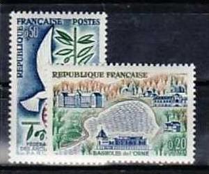 Frankreich Nr. 1346-7   ** (aa9293 ) siehe scan