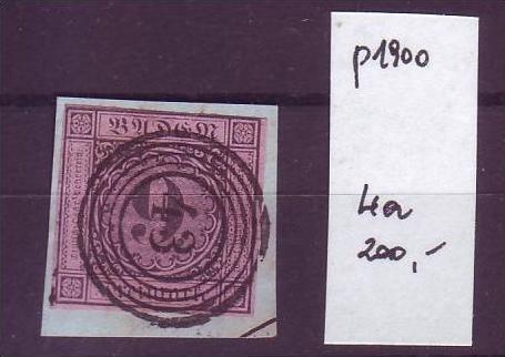 Baden   Nr. 4a  o (p1900 ) siehe scan- vergrößert !
