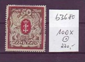 Danzig  Nr. 100  x  o   ( b3680    ) siehe Bild