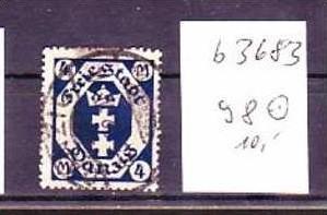Danzig  Nr. 98   o   ( b3683    ) siehe Bild