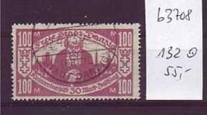 Danzig  Nr. 132 o    ( b3708     ) siehe Bild