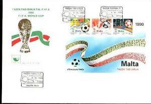 Malta  -FDC Block 11  (bg615 ) siehe Bild