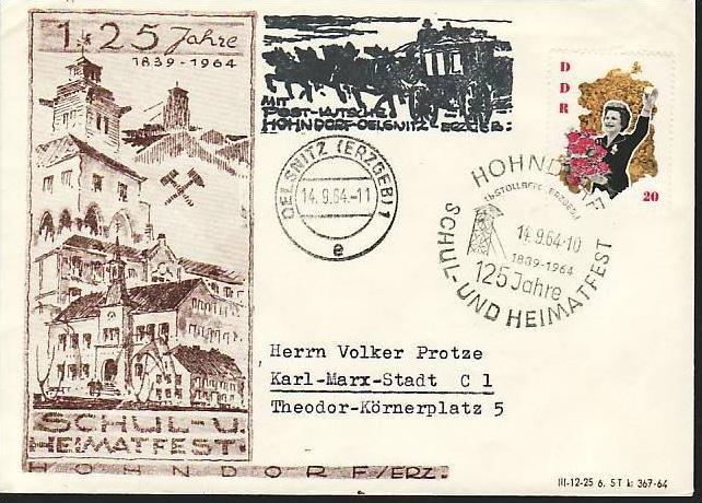 DDR  Sammlerpost /Beleg   ( m6315 )siehe scan