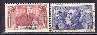 Frankreich Nr. 324-5  o   (bb9201 ) siehe Bild