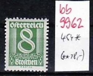 Österreich Nr. 454  * (bb9962 ) siehe Bild