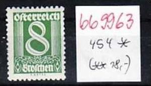 Österreich Nr. 454  * (bb9963 ) siehe Bild