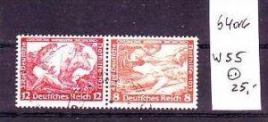 D-Reich Zusammendruck  w55     o   (b4016   ) siehe Bild
