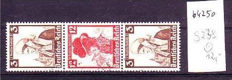 D-Reich Zusammendruck  s238     o  (b4250  ) siehe Bild