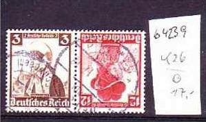 D-Reich Zusammendruck  k26     o  (b4239  ) siehe Bild
