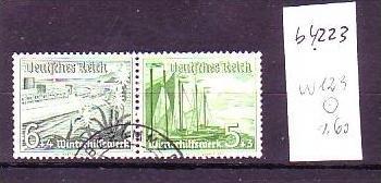 D-Reich Zusammendruck  w123   o  (b4223 ) siehe Bild