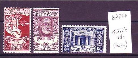 Italien Nr. 157-9   *  (b4354 ) siehe scan