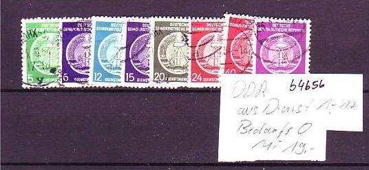 DDR Dienst lot  o   (b 4656  ) siehe scan