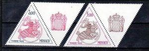 Monaco Nr. Porto  77-78  **  ( b5219 ) siehe Bild
