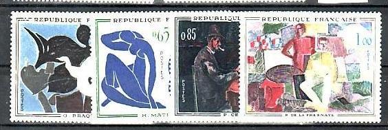 Frankreich  Nr. 1372-5  **  (b5327 ) siehe Bild
