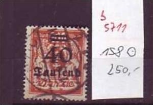 Danzig  Nr. 158   o ( b5711  ) siehe Bild