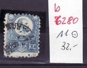 Ungarn Nr. 11  o   (b6280 ) siehe scan