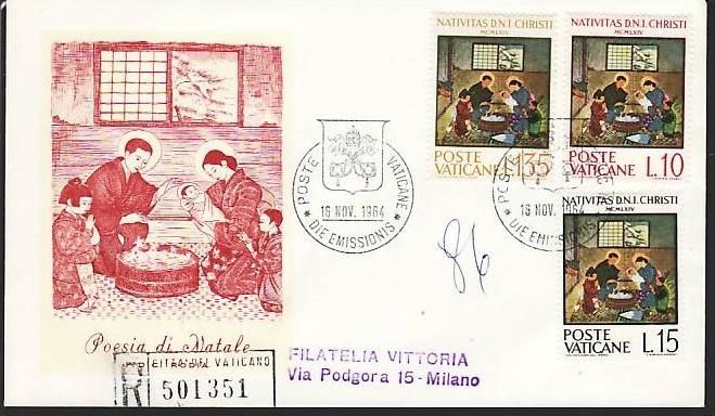 Vatican FDC   (m7502   )siehe scan