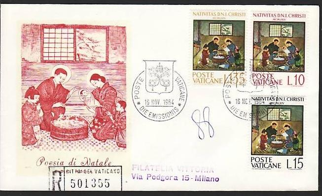 Vatican FDC   (m7501   )siehe scan