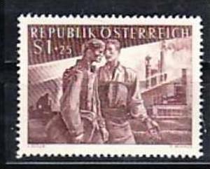 Österreich Nr. 1019  ** (b6620 ) siehe Bild