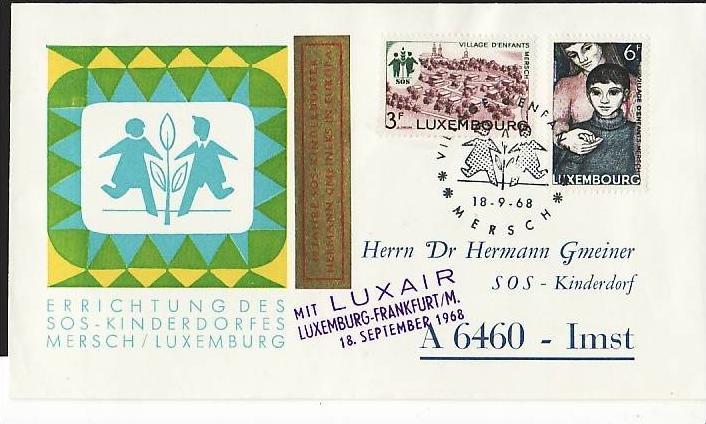 Luxemburg Sammler Beleg  ( m7689 ) siehe scan