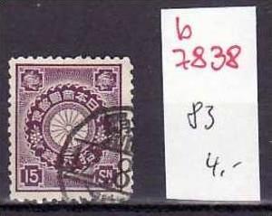 Japan Nr. 83   o   (b7838 ) siehe scan