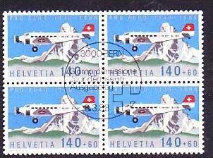 Schweiz Nr. 4x1369  o ( b7337 ) siehe Bild