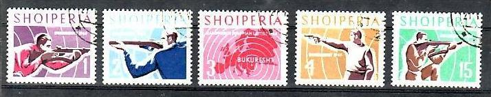 Albanien  Nr. 934-8  o  ( b9742   )siehe Bild