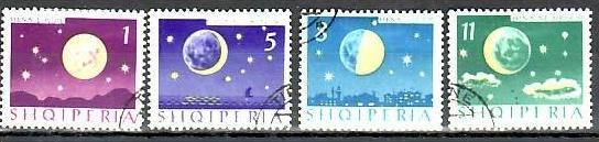 Albanien  Nr. 839-42  o  ( b9743   )siehe Bild