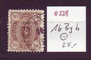 Finnland  Nr.  16 Byb   o   ( o529 ) siehe Bild