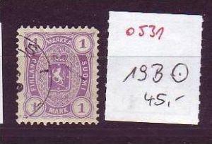 Finnland  Nr.  19 B   o   ( o531 ) siehe Bild