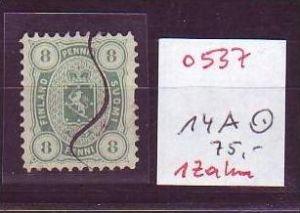 Finnland  Nr.  14 A   o   ( o537 ) siehe Bild