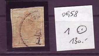 Österreich Nr. 1  o  (o958 ) siehe scan