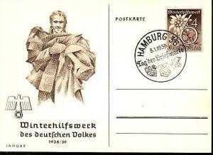 D-Reich Ganzsache WHW  (m8825 ) siehe scan
