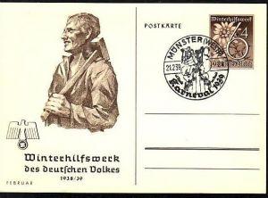 D-Reich Ganzsache WHW  (m8826 ) siehe scan