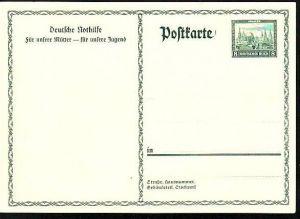 D-Reich Ganzsache  Nothilfe (m 8978  ) siehe scan
