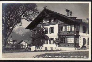 Schönberg Stubi Hotel   alte Karte (m8812 ) siehe scan