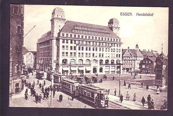 handelshof karte Alte Karte Essen  Handelshof ca.1916 (da1418) Nr. 112217824  handelshof karte