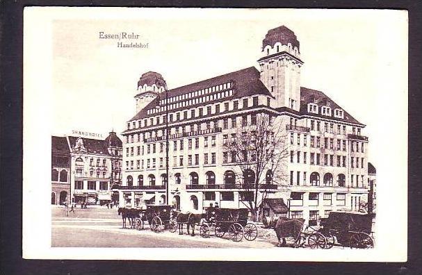 handelshof karte Alte Karte Essen   Handelshof ca.1916 (da1412) Nr. 112217844  handelshof karte