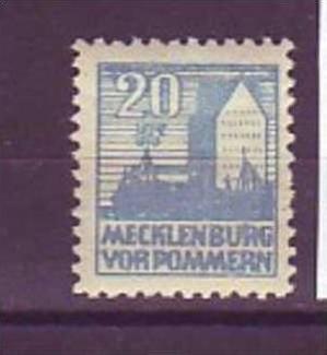 sowjet Zone Nr. 38 Yb   ** ( u2787  ) siehe scan