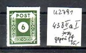 sowjet Zone Nr. 43 BIIaI  ** ( u2791  ) siehe scan