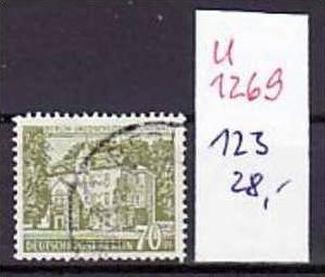 Berlin  Nr. 123  o (u1269  ) siehe scan
