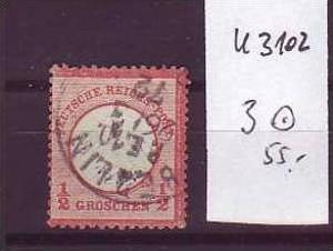 D-Reich Nr. 3  o  ( u3102   ) siehe scan