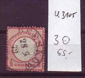D-Reich Nr. 3  o  ( u3105   ) siehe scan