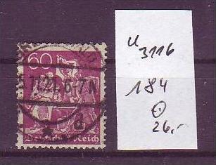 D-Reich Nr. 184  o  ( u3116   ) siehe scan