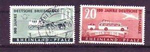 Franz.Zone-Rheinland Pfalz  Nr. 49-50 o   (u2900 ) siehe scan