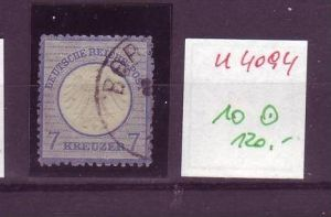 D-Reich Nr. 10   o ( u4094 ) siehe scan