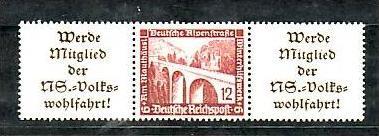 D-Reich Nr.  w 112 */**    ( o1546 ) siehe scan
