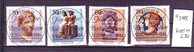 Berlin Nr.  708-11 o  (u3183  ) siehe scan 0
